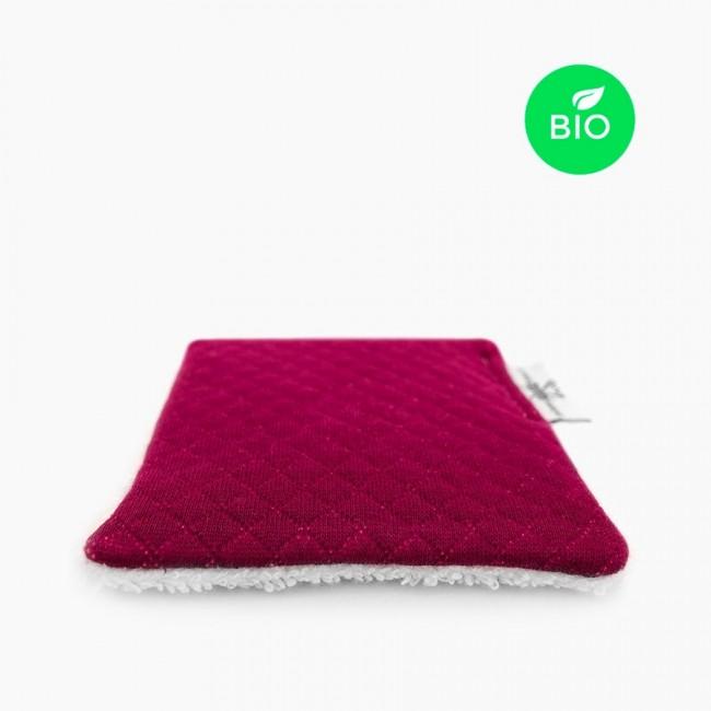 """3x """"Douillette Purple"""" Lingettes démaquillantes lavables Bio"""