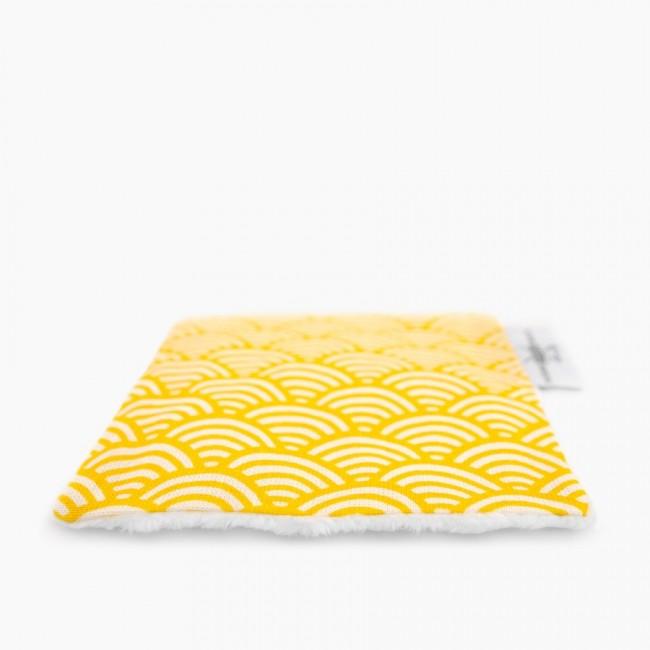 """6x """"Qu'on la couvre d'or"""" Lingettes démaquillantes lavables"""