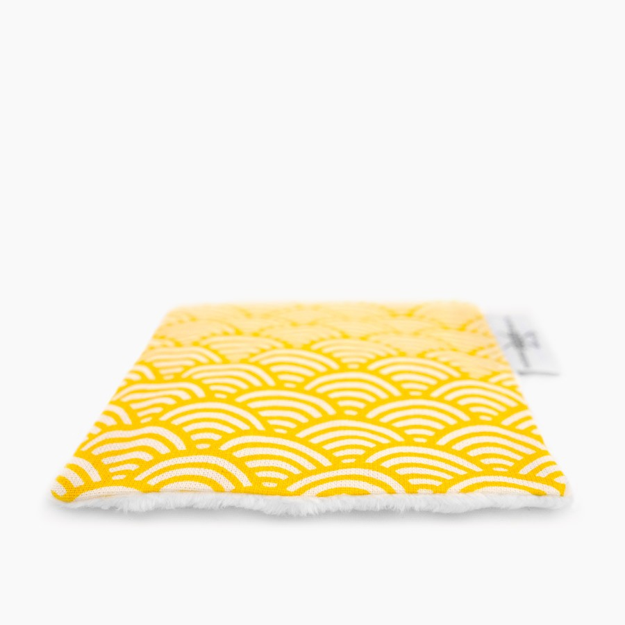 """Washable cleansing wipes """"gold"""" x6"""