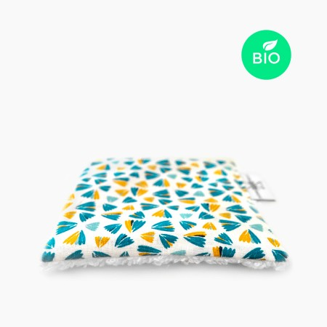 """6x """"Berlingo"""" Carrés démaquillants lavables bio"""