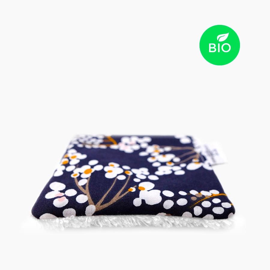 Lingette démaquillante lavable bio - Envie d'Asie - Le Petit Carré Français