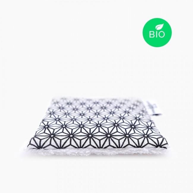 6x « TissezTissezMme » toallitas desmaquillantes lavables orgánicas