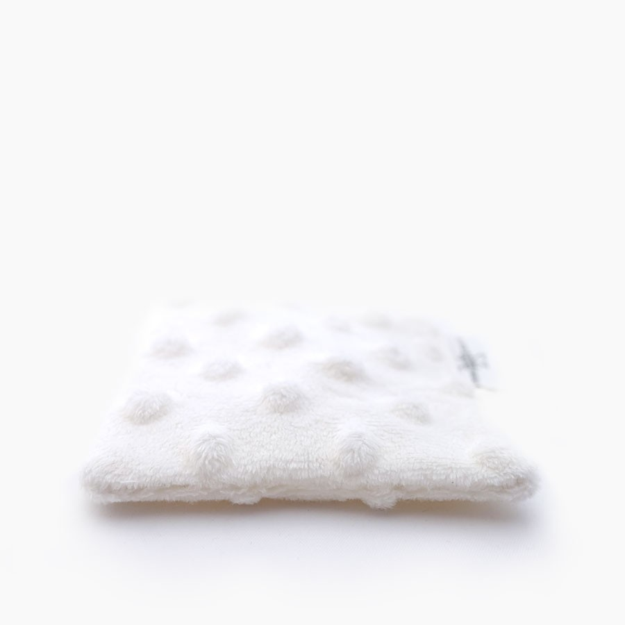 Washable double-sided cleansing wipes white x3
