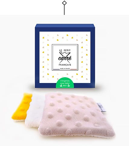 Baby reusable wipes - Le Petit Carré Français