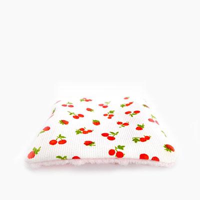 6 toallitas desmaquillantes lavables - Le temps des cerises