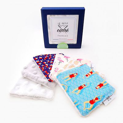 discovery box of 6 cleansing wipes