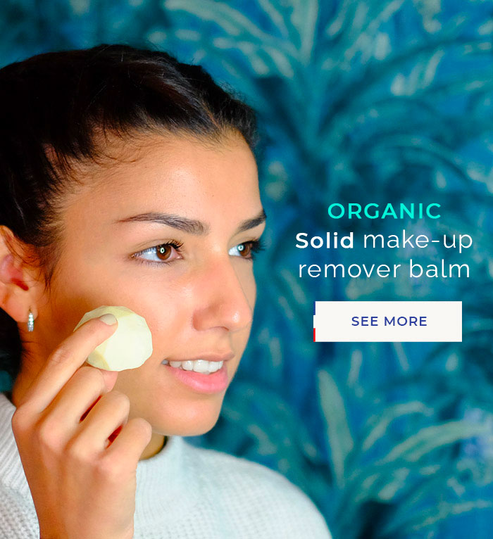 ORGANIC Solid make-up remover balm