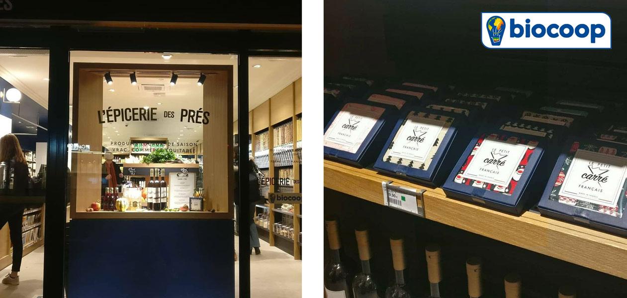 Biocoop - Organic shopper - Le petit carré français