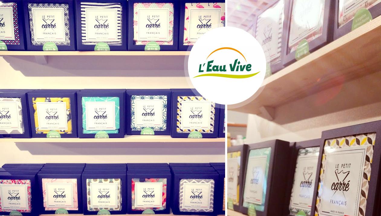EauVive - Organic shopper - Le petit carré français